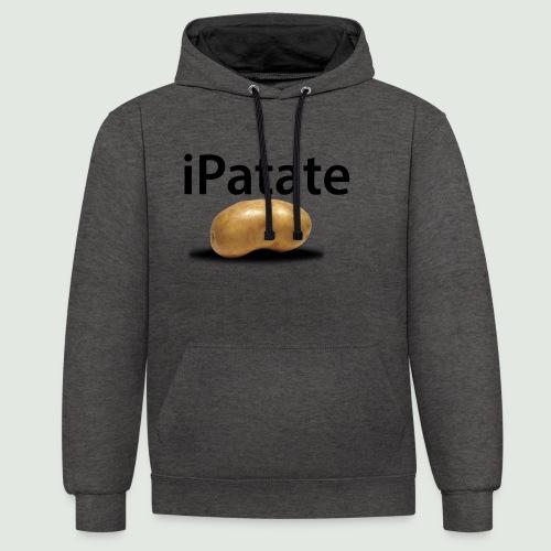 iPatate - Sweat-shirt contraste