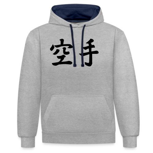 karate - Contrast hoodie
