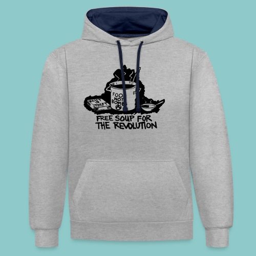 Wat een soepjurk! 2 - Contrast hoodie