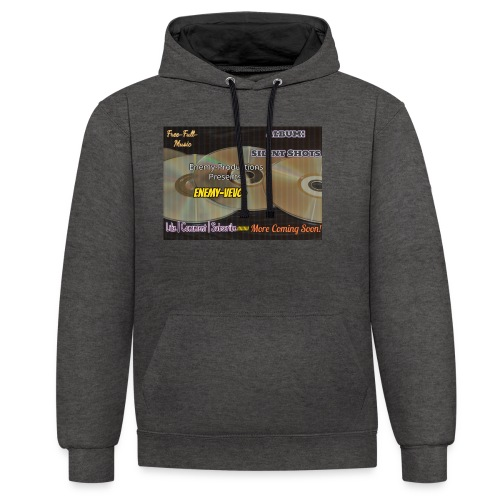 Enemy_Vevo_Picture - Contrast Colour Hoodie