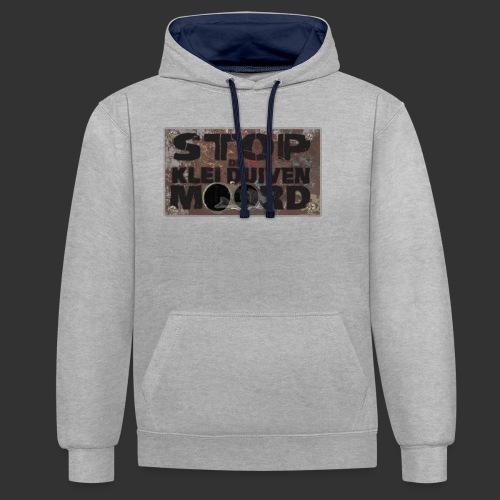 kleiduivenmoord - Contrast hoodie