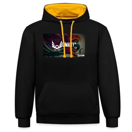 WRONG | Out off stock - Contrast hoodie