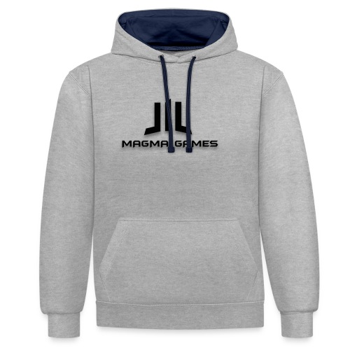 Magma Games t-shirt - Contrast hoodie