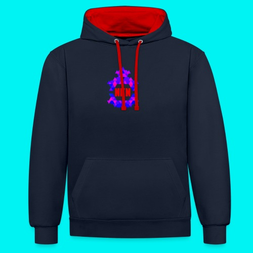 THE OFFICIAL NEUKADNEZZAR T-SHIRT - Contrast Colour Hoodie