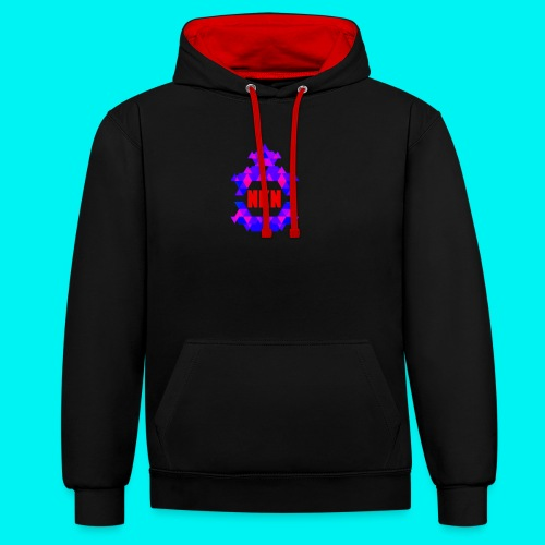 Nebuchadnezzar the ping - Contrast Colour Hoodie