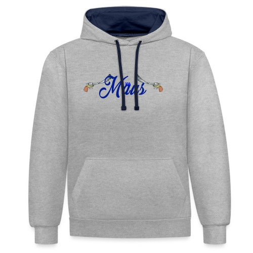 Waterpistol Sweater by MAUS - Contrast hoodie