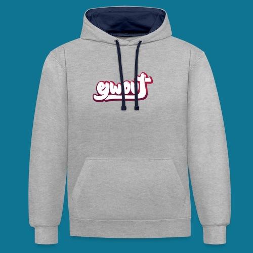 T-shirt (tienermaten) - Contrast hoodie