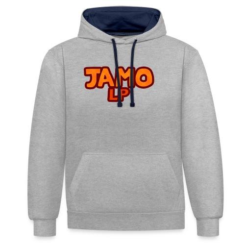 JAMOLP Logo T-shirt - Kontrast-hættetrøje