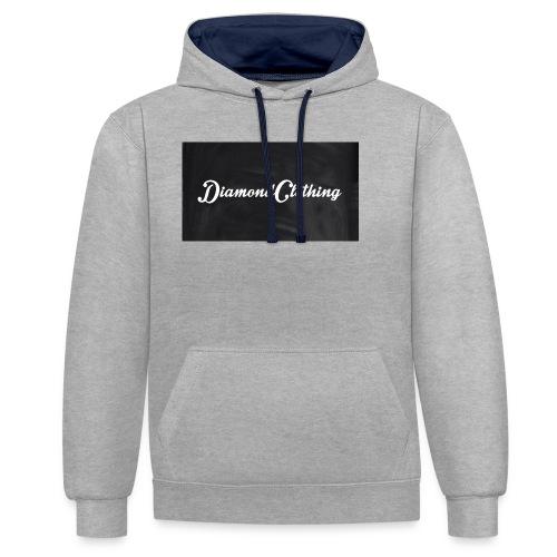 Diamond Clothing Original - Contrast Colour Hoodie