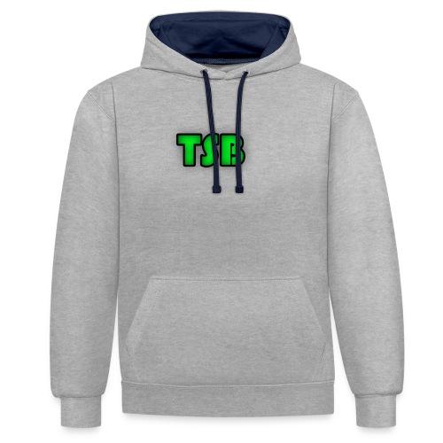 TSB logo - Contrast Colour Hoodie