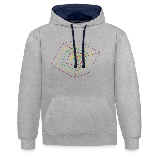 Rasta Cubes - Sweat-shirt contraste