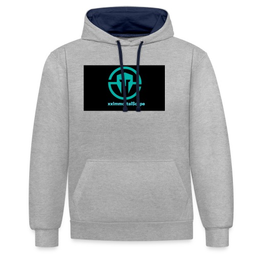 xxImmortalScope throwback - Contrast Colour Hoodie