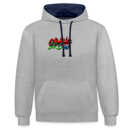 gamin brohd - Contrast Colour Hoodie