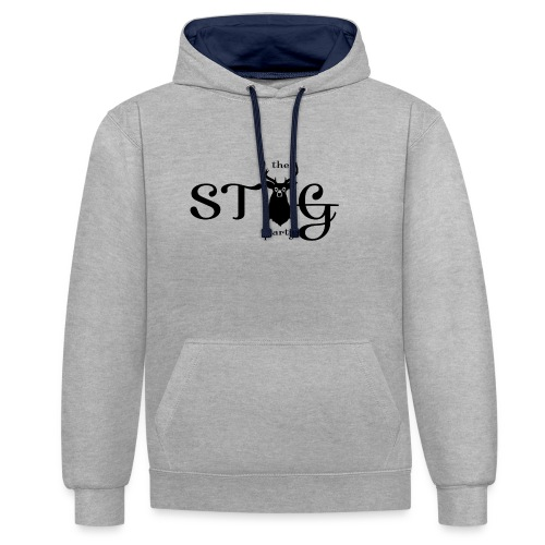 THE STAG PARTY - Contrast Colour Hoodie
