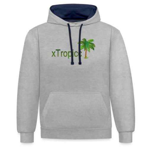 tropicc - Sweat-shirt contraste