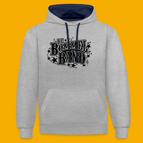 bb logo - Contrast hoodie