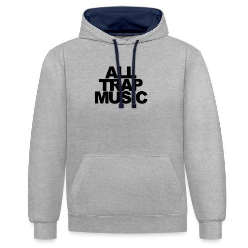 All Trap Music - Sweat-shirt contraste