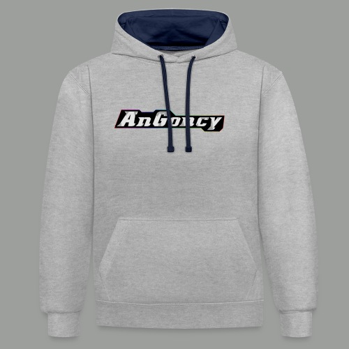 My new limited logo - Contrast Colour Hoodie