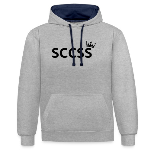 SCCSS - Contrast hoodie