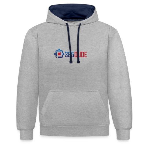 365Dude - Contrast hoodie