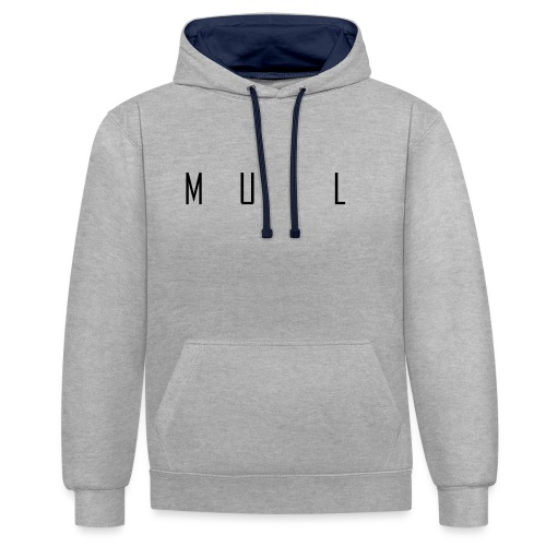 muil - Contrast hoodie