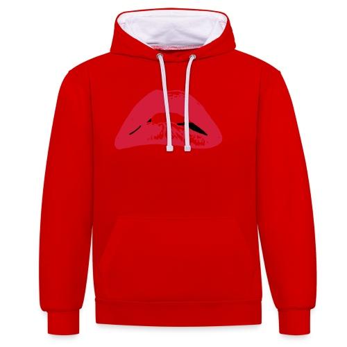 horror - Contrast hoodie