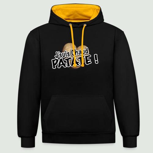 chaud patate - Sweat-shirt contraste