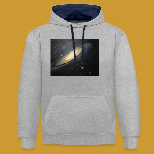 Andromeda - Mark Noble Art - Contrast Colour Hoodie