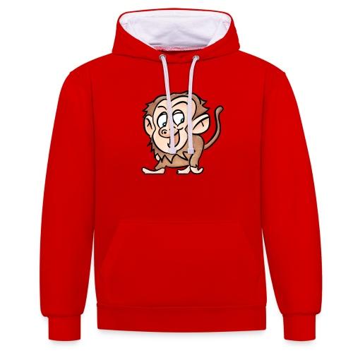 Aap - Contrast hoodie
