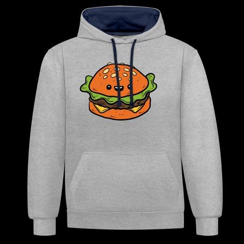 Star Burger - Contrast hoodie