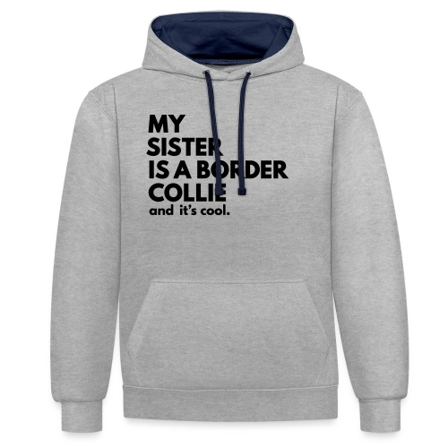 MSB_TEE_SISTER - Sweat-shirt contraste