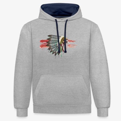 Native american - Sweat-shirt contraste