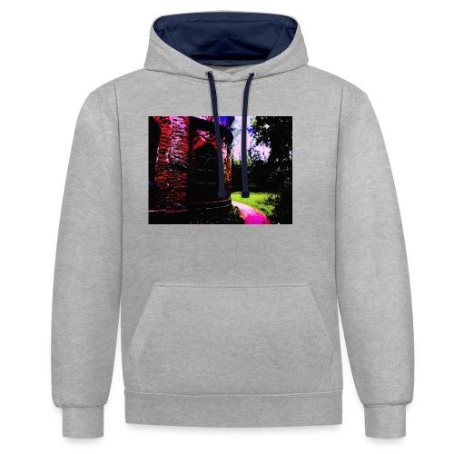 POP - Contrast Colour Hoodie