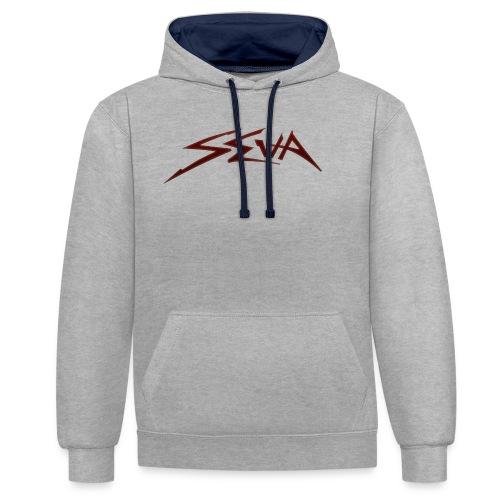 SEUA logo Speedy red - Kontrastluvtröja