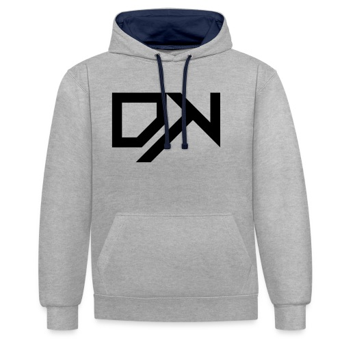 DewKee Logo Samung Galaxy S4 Case Black - Contrast Colour Hoodie