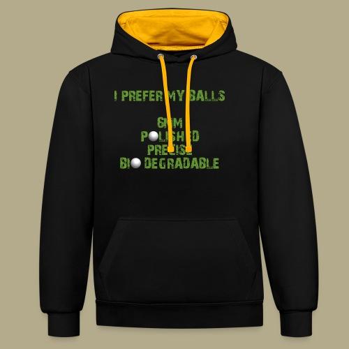 BALLS - Contrast hoodie