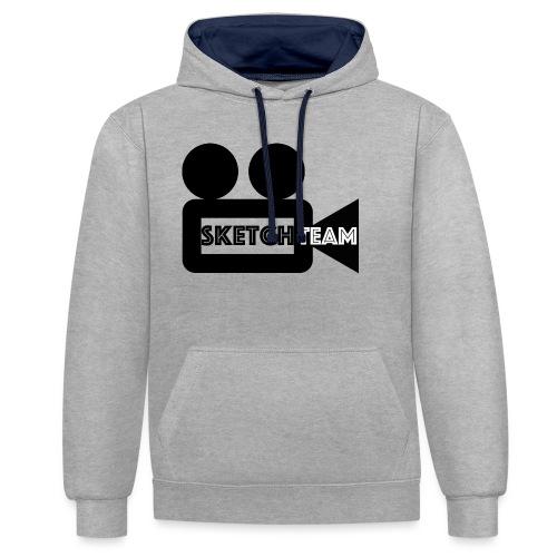 SketchTeam Logga T-shirt - Kontrastluvtröja