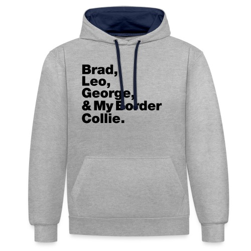 & My Border Collie - Sweat-shirt contraste