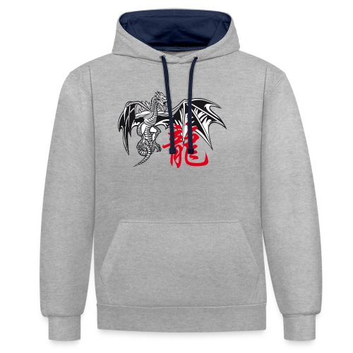 THE YEAR OF THE DRAGON ( - Contrast Colour Hoodie