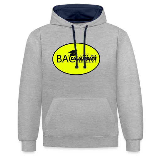 Baccalaureate Design - Sweat-shirt contraste