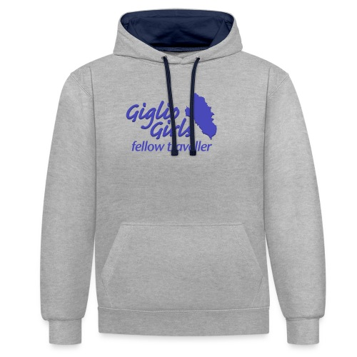 GIGLIOGIRLS_FT - Contrast Colour Hoodie