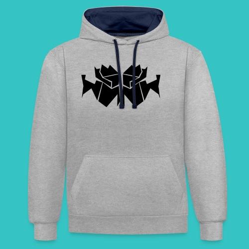 TrogArtZ Shirt - Kontrast-Hoodie