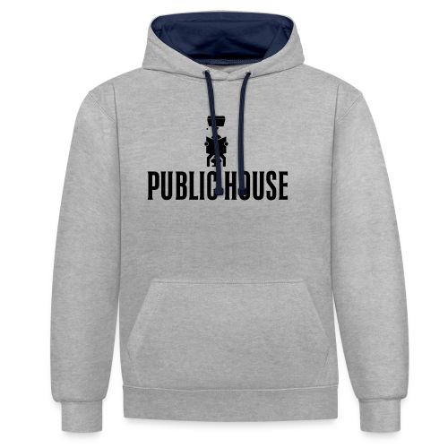 Official Women Shit by Public House - Contrast Colour Hoodie