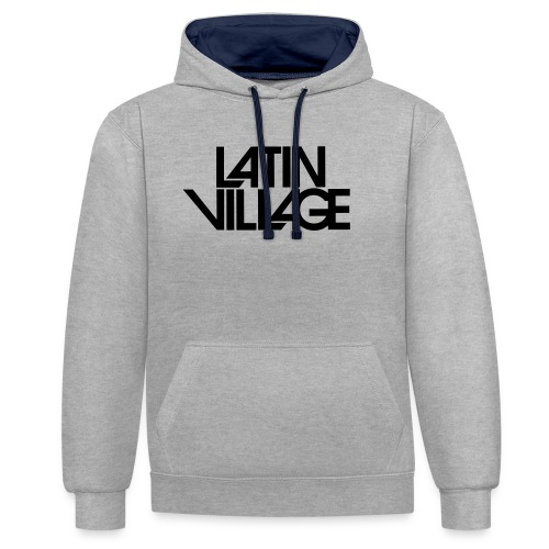 Logo Latin Village 30 - Contrast hoodie