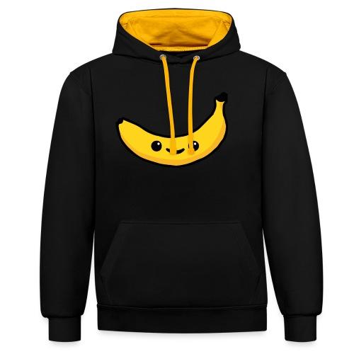 Alles Banane! - Kontrast-Hoodie