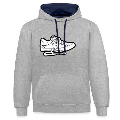 sneaker1 - Kontrastluvtröja