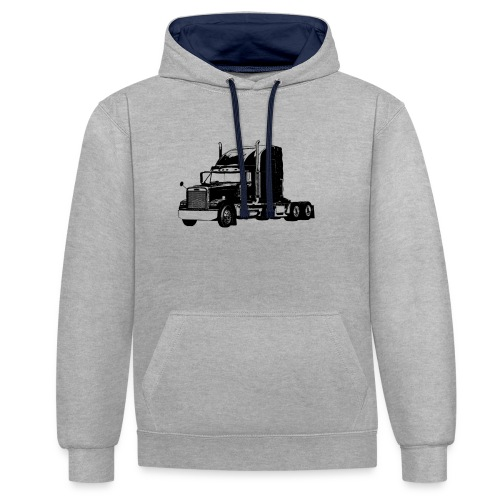 Freightliner - Kontrast-Hoodie