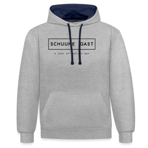 GAST - Contrast hoodie