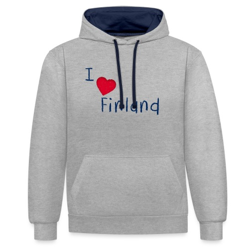 I Love Finland - Kontrastihuppari