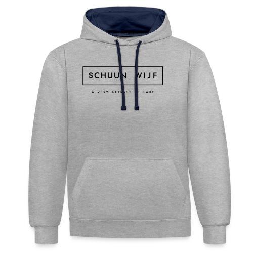 WIJF - Contrast hoodie